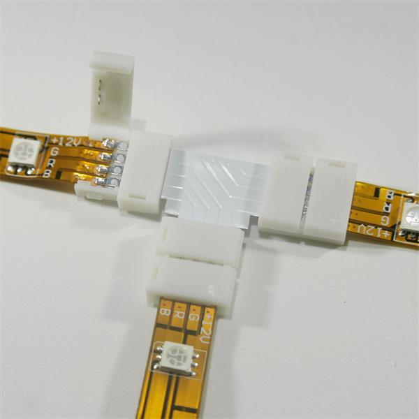 Click Anschlussklemme für drei flexiblen LED RGB Streifen