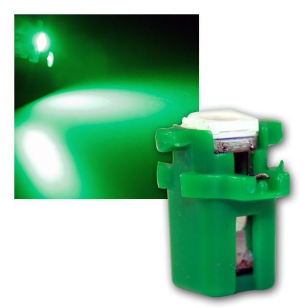 PNP LED Birne B8.3d BAX10s T5 grün Lampe 12V