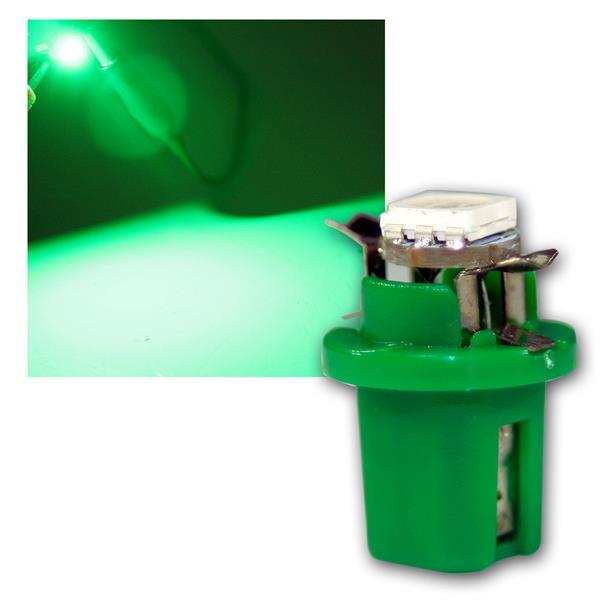 PNP LED Birne B8.5d BAX10d T5 grün Lampe 12V