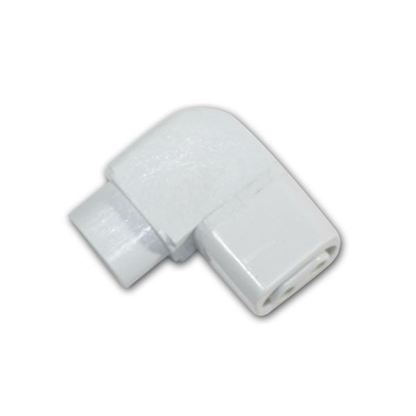 Verbindungswinkel für LED-Unterbauleuchten, 90°