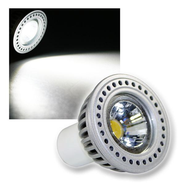 COB LED Leuchtmittel GU10 6W kalt DIMMBAR 360lm