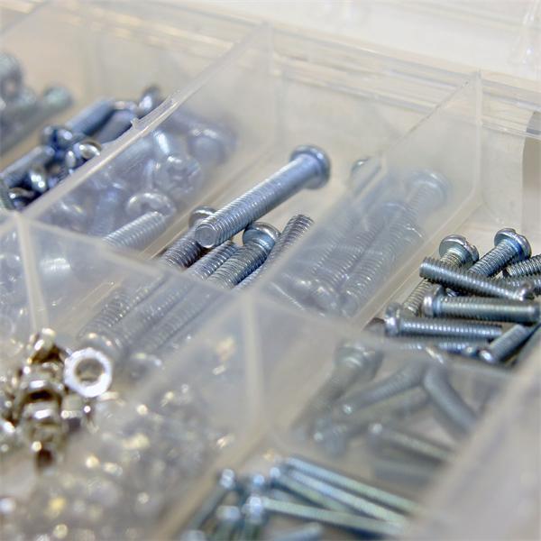 Hochwertiges Schrauben Set für viele Anwendungen im Hobbybereich