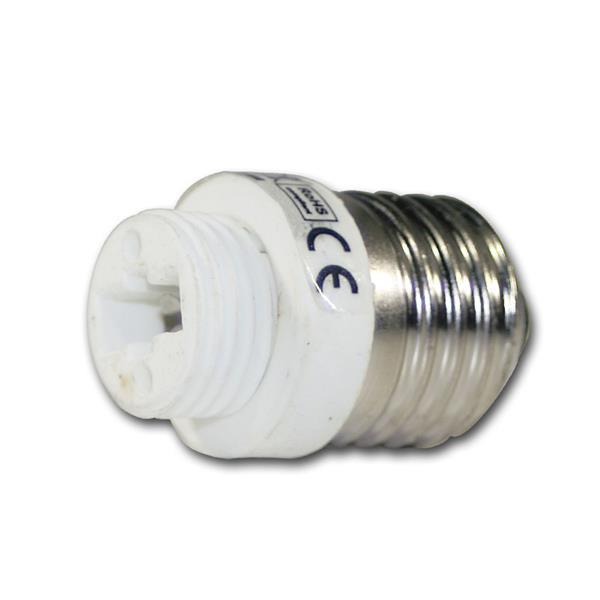 Lampenfassung Adapter G9 auf E27 Fassung