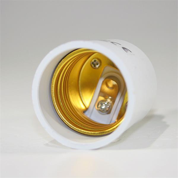 Konverter aus Kunststoff passend für Leuchtmittel mit E27 Sockel