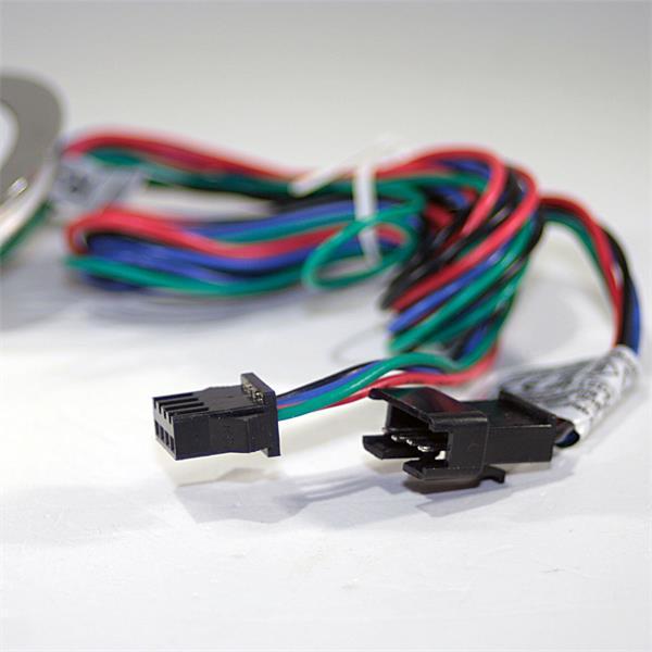 LED Downlight IP67 für 12V DC mit nur 0,5W Verbrauch mit 4-poligem Anschluss