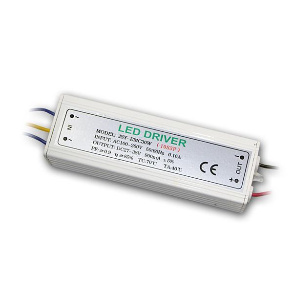 LED Konstantstrom-Trafo, max. 30W, 900mA, 27-38V