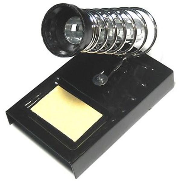 Metallpult mit Federhalter und Silikonschwamm