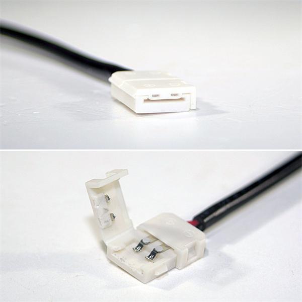 Anschlussclip für flexible 8mm LED Streifen mit IP20