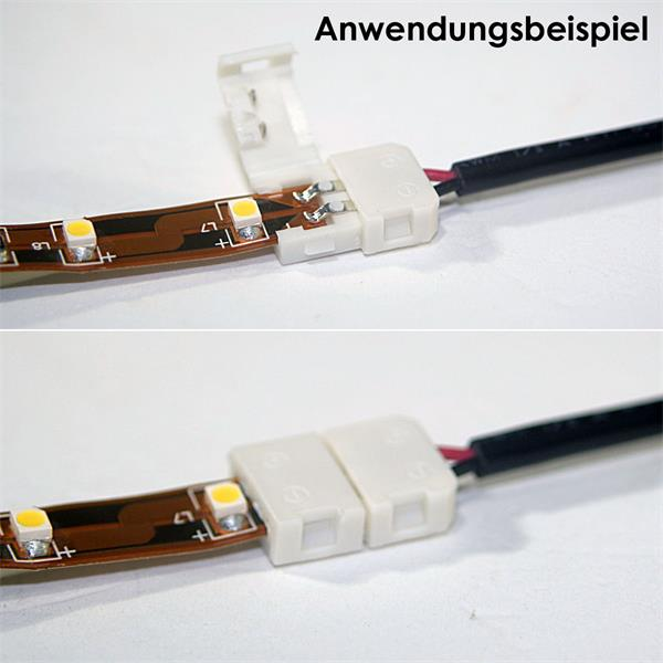 zum einfachen und lötfreien Anschluss von LED Strip