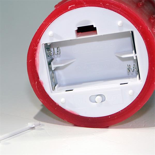 batteriebetriebene Wachskerze für gemütliches Stimmungslicht