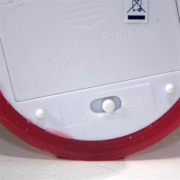 LED Dekokerze mit Ein- und Ausschalter am Kerzenboden