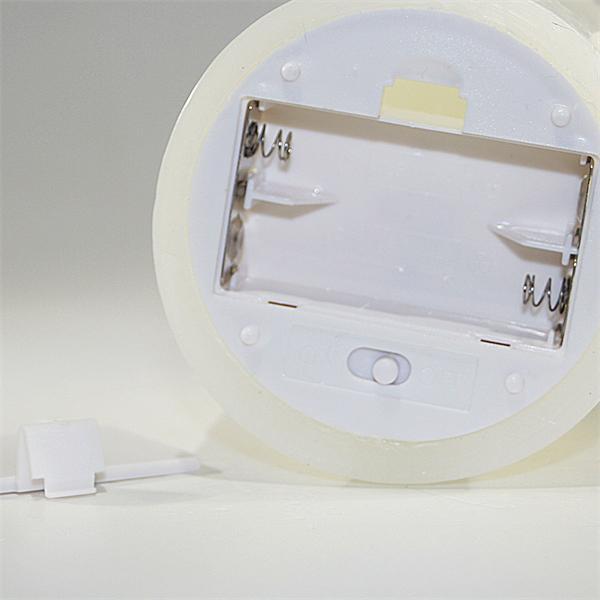 LED Dekokerzen mit Ein- und Ausschalter am Kerzenboden