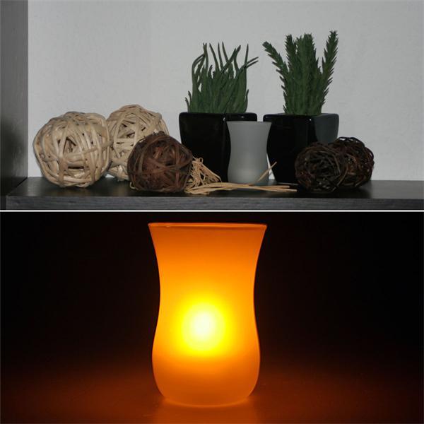 stimmungsvolles LED Dekolicht für die Feier auf der Terrasse
