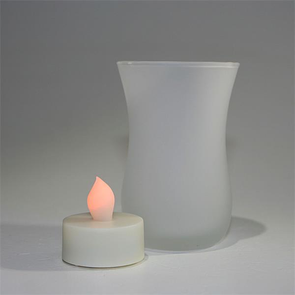 LED Kerze zum Anschütteln und Auspusten für echtes Kerzenflair