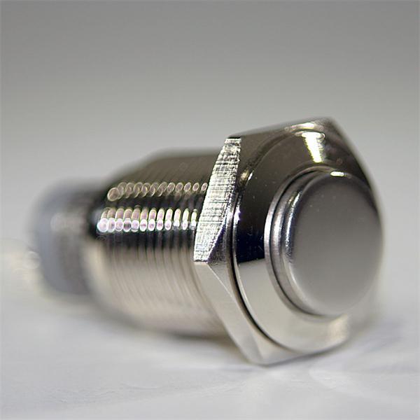 Vollmetall Taster zur Verwendung als Öffner oder Schließer