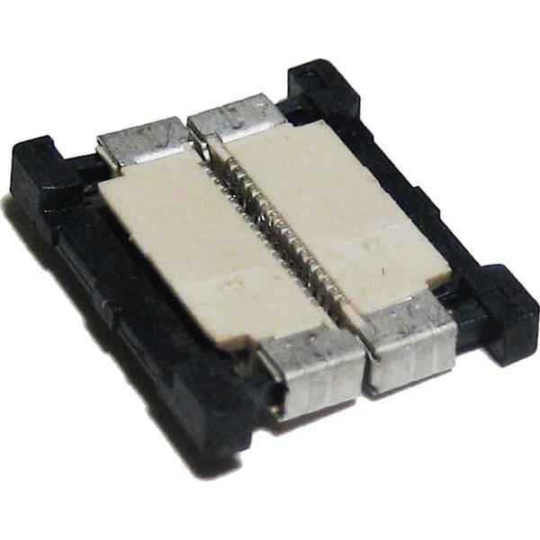 Verbinder CLIP mit schwarzen Kunststoffbacken