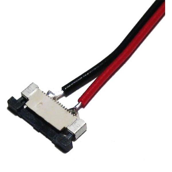 Anschlusskabel mit CLIP mit schwarzen Kunststoffbacken