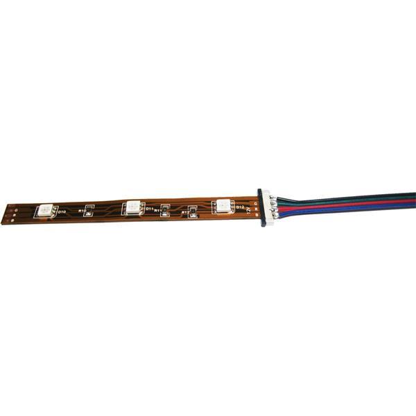 Connector Clip mit Kabelanschluss für 4polige Strips