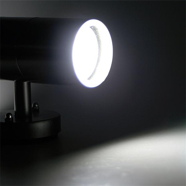 LED Spot-Leuchte mit  kaltweißer zweiseitiger Abstrahlung