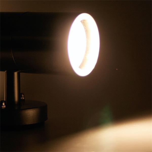 LED Spot-Leuchte mit warmweißer zweiseitiger Abstrahlung