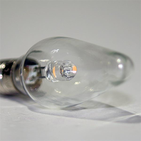 E10 LED Schwibbogen Kleinschaftkerze mit breitem 360° Abstrahlwinkel