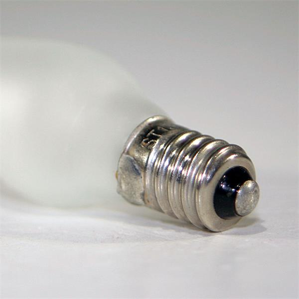 LED Energiesparlampe Sockel E10 für 10-55V mit nur ca. 0,2W Verbrauch