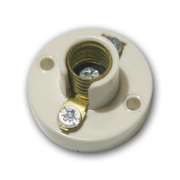 Bakelit-Sockel Lampenfassung E10 Fassung E 10