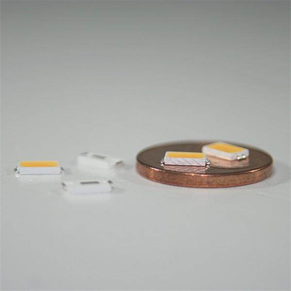 Leuchtdiode in kleiner Abmessung und extrem hoher Helligkeit