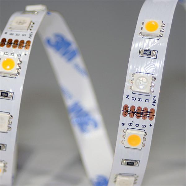 kürzbarer hochflexibler LED Streifen mit RGB SMD LEDs