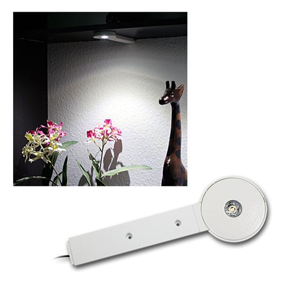 LED Unterbauleuchte 3W neutralweiß, Gehäuse weiß