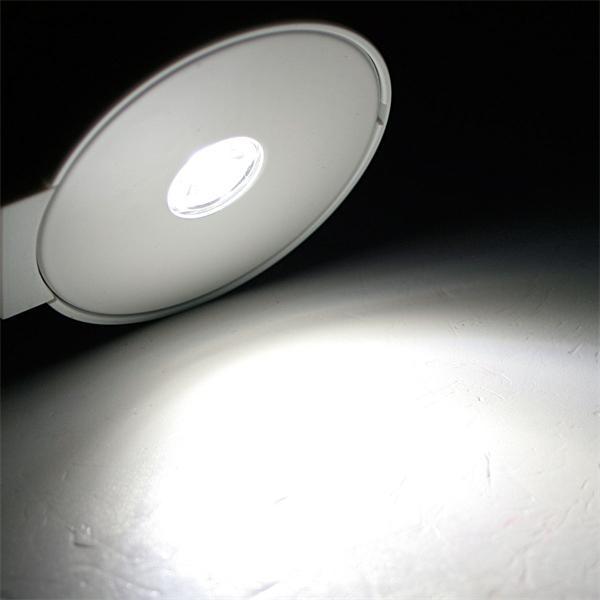 lichtstarke 3W LED mit 160 Lumen und kaltweißem Licht