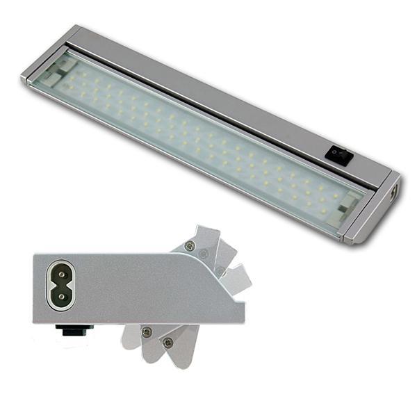 LED Lichtleiste mit schwenkbaren Leuchteinsatz