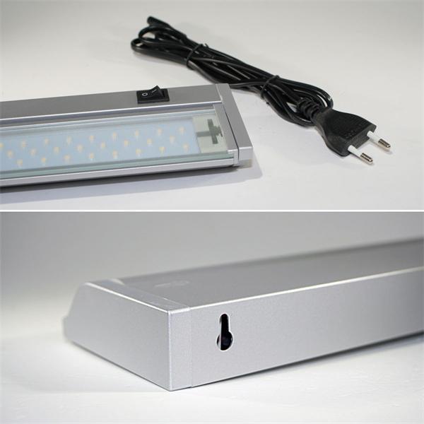 LED Unterbauleuchte mit Netzteil für direkten Anschluss