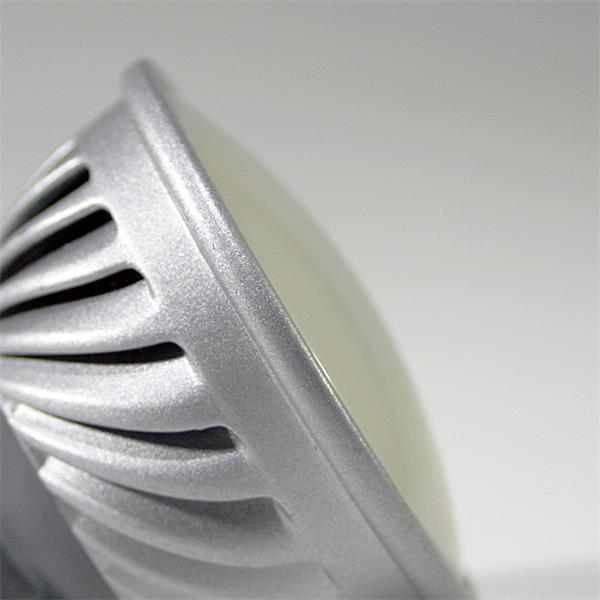 MR16 LED Energiesparleuchte mit dem Maß 50x52mm und Schutzglasabdeckung