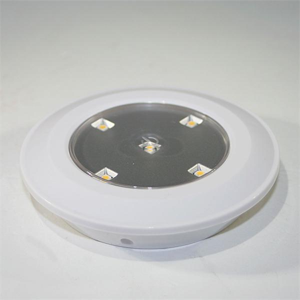 LED Batterie-Leuchte mit 5 SMD LEDs in warm-weiß