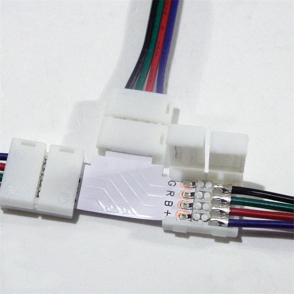 Anschlusskabel für drei 10mm RGB LED Streifen mit IP20