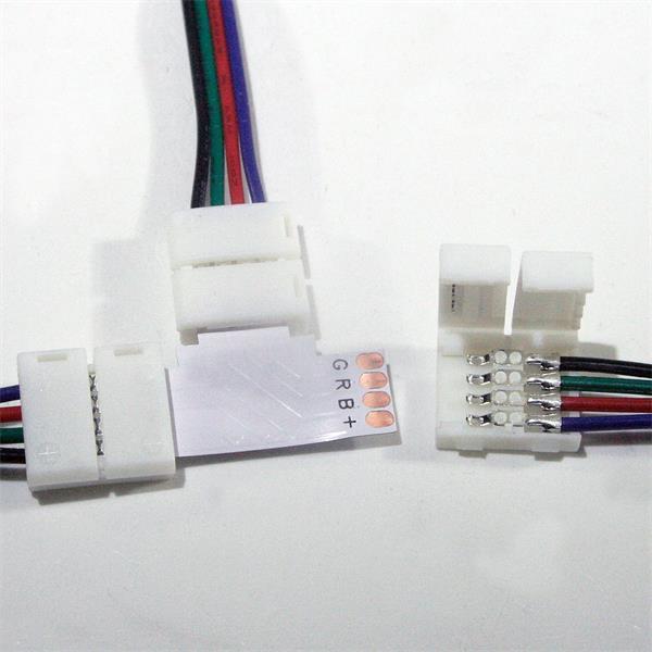 Kabel mit Clip zum einfachen Anschließen von LED Streifen