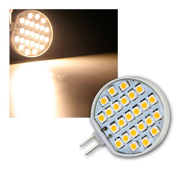 Stiftsockellampe G4 24xSMD LED warm weiß 90lm 1,5W
