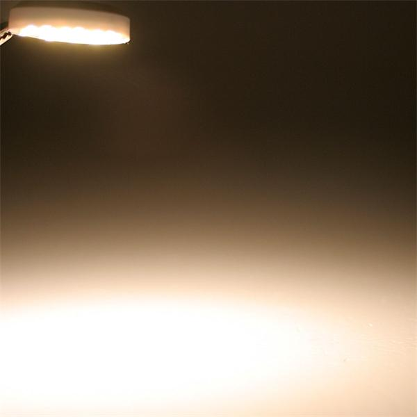 G4 Sockel LED rund mit 120° Abstrahlwinkel und 90lm Lichtstrom