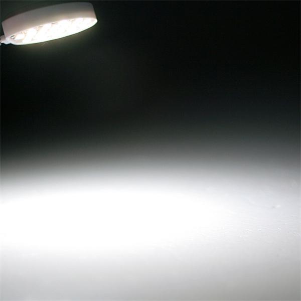 G4 Sockel LED rund mit 120° Abstrahlwinkel und 100lm Lichtstrom