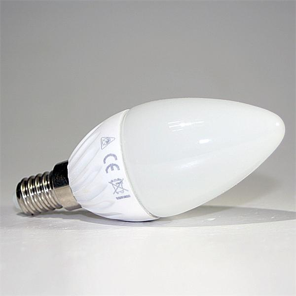 LED Kerzenstrahler Fassung E14 vergleichbar mit herkömmlichen 35-40W Glühbirne