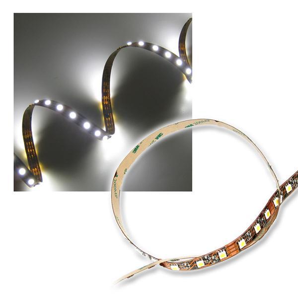 500cm SMD LED Streifen FLEXIBEL pur-weiß 3-Chip
