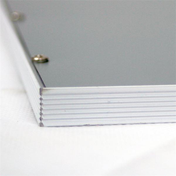LED Panel mit Aluminiumrahmen und Kunststoffabdeckung