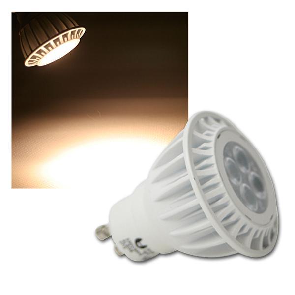 GU10 Highpower LED Strahler 6,5W warm weiß 360lm