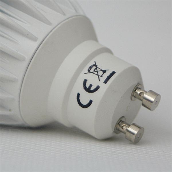 GU10 LED Energiesparlampe für 230V Sockel GU10 und nur 6,5W Verbrauch