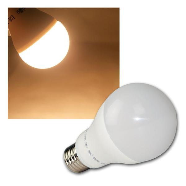 E27 LED Birne 13W warm weiß 1050lm ersetzt 75W