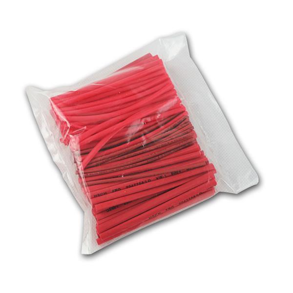 Schrumpfschlauch-Sortiment, 100-teilig, rot