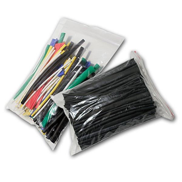 Schrumpfschlauch-Sortiment 200-teilig bunt/schwarz