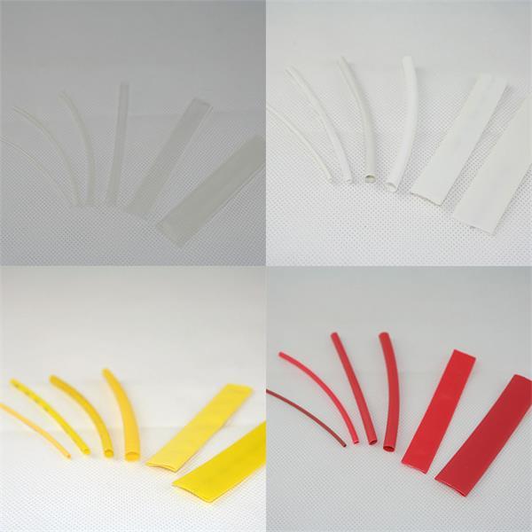 100x Schrumpfschlauch in 10cm Länge und verschiedenen Farben