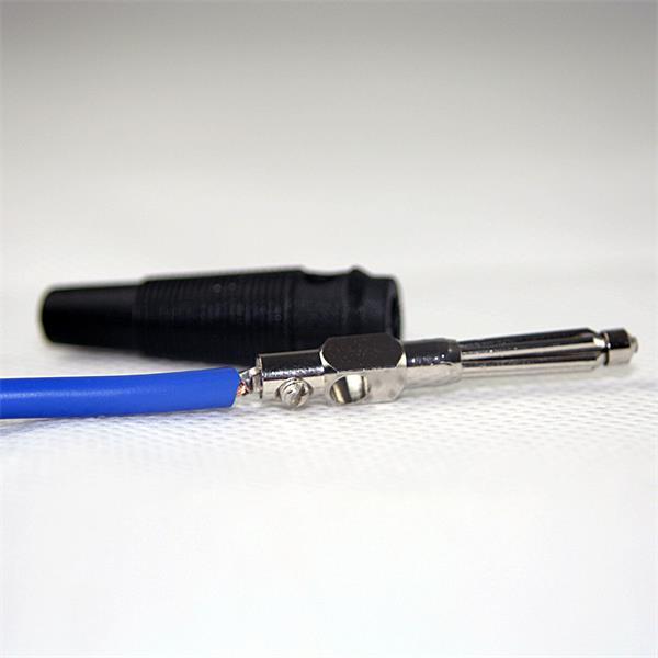 Steckverbinder mit Schraubanschluss für Audio- oder Videokabel